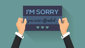 I'm sorry you were offended