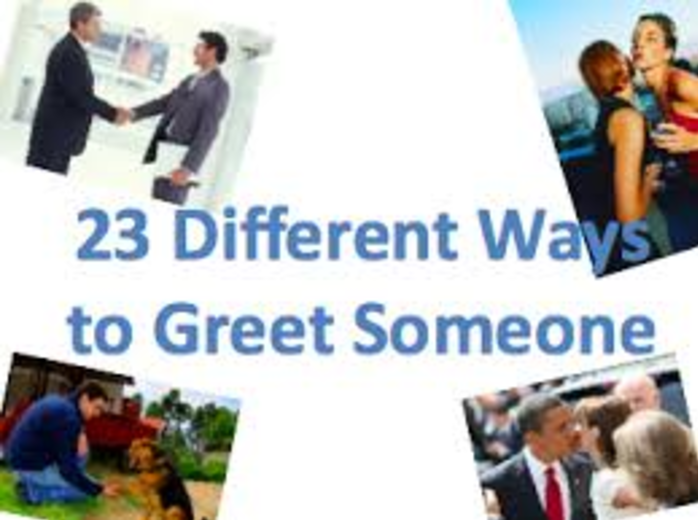 23 different ways to greet someone in english reallife english 23 different ways to greet someone in english m4hsunfo Choice Image