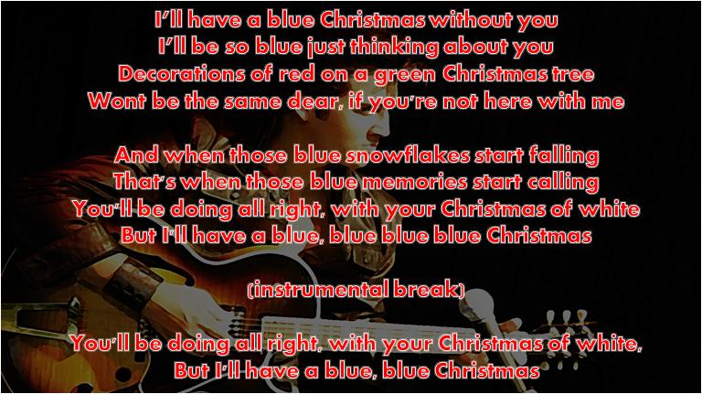 Elvis Presley Christmas Music.Learn English With Music Elvis Presley Christmas And