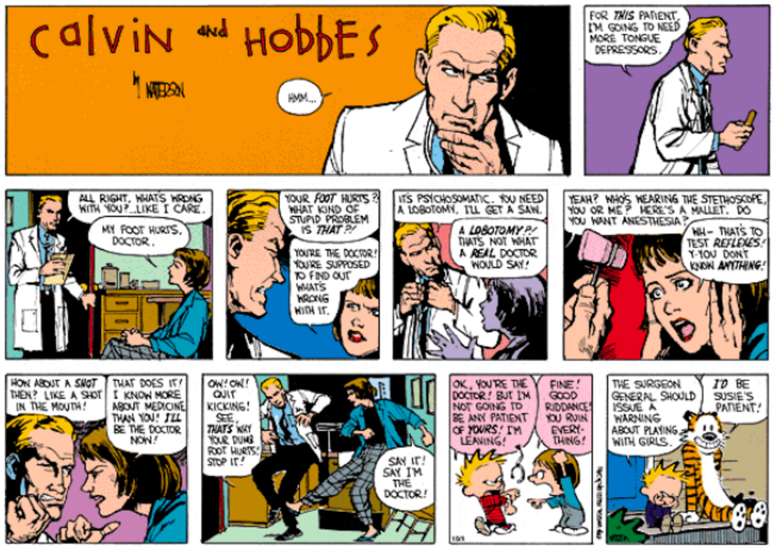 Calvin & Hobbes 10