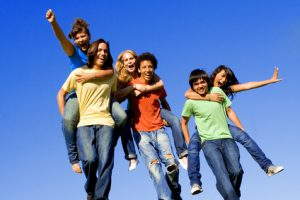 make friends learn English