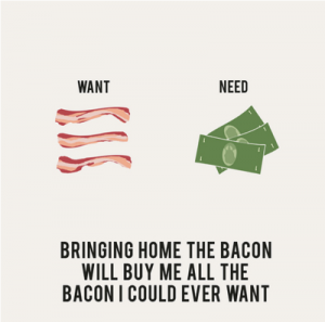 Bring home the bacon English expressions