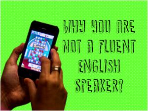 fluent english speaker