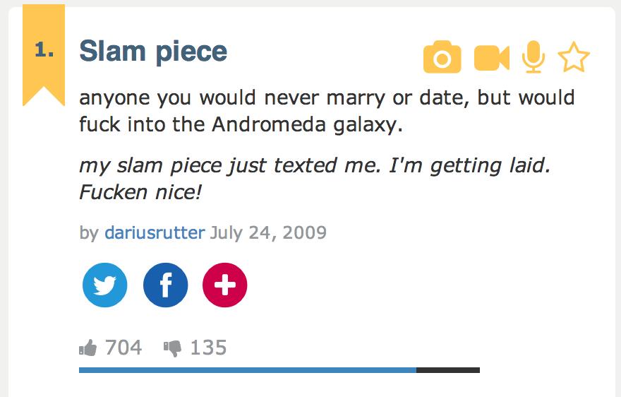 Slam Piece Definition