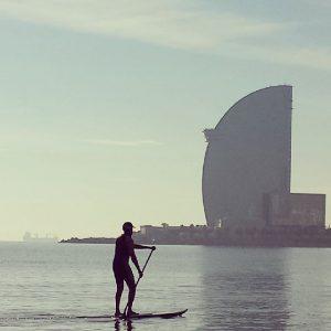paddle boarding barcelona