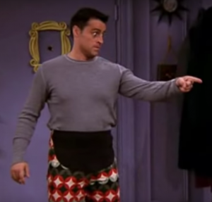 Joey's thanksgiving pants