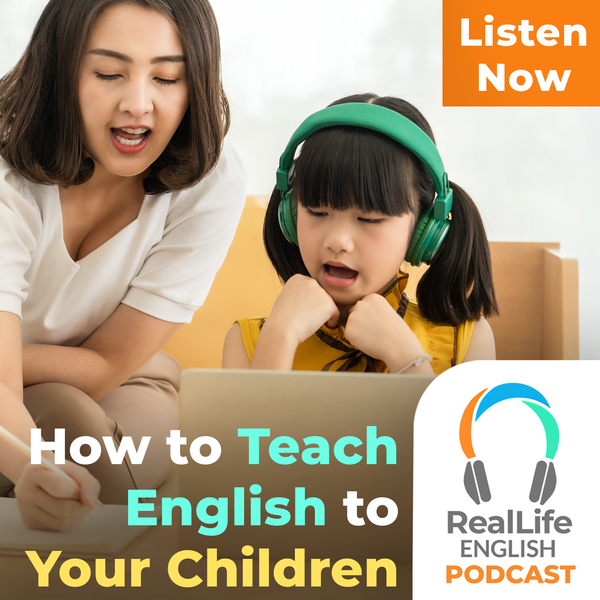 How to teach your children English